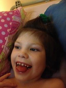 Smiling Tilda
