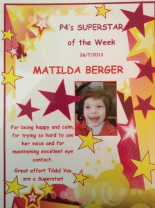 SuperStar of the Week!