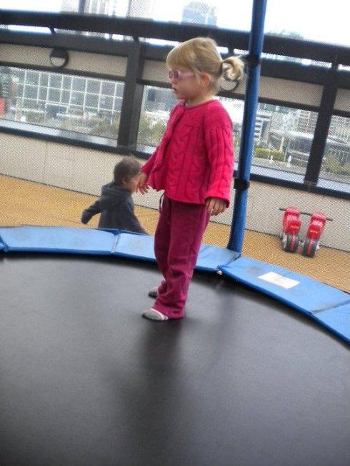 Tilda bouncing